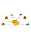 Дождеватель Presto-PS ороситель круговой Бабочка (8107)