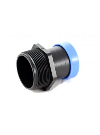 Стартер Presto-PS с резьбой 50 мм для шланга туман Silver Spray 50 мм, в упаковке - 10 шт. (GSM-015063)