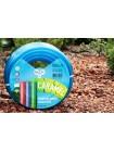 Шланг поливочный Presto-PS силикон садовый Caramel ++ (синий) диаметр 1/2 дюйма, длина 50 м (CAR B-1/2 503)