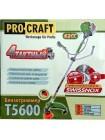 Бензокоса Procraft T5600 4-х тактная (original)