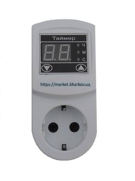 Таймер ТМ-2 16A с заземлением