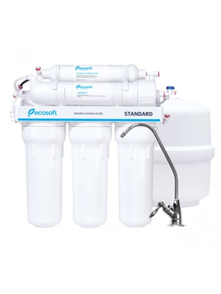 Фильтр для воды с обратным осмосом Ecosoft Standard 5-50 (Украина)