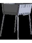 Мангал Чемодан облегченный, 1,2 мм, 6 шампуров