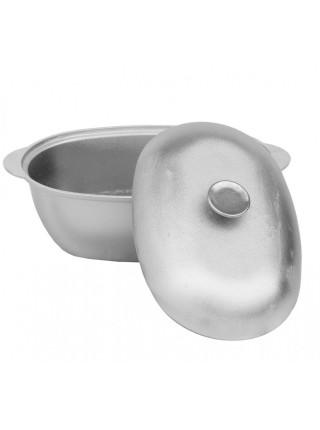 Гусятница литая алюминиевая с крышкой 4л (Г0400) ТМ БИОЛ