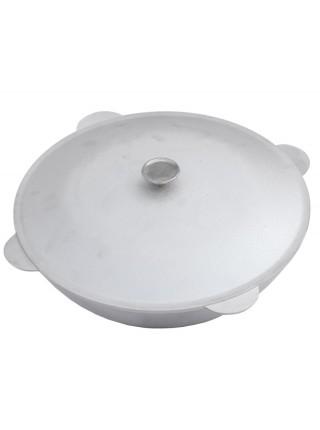 Казан татарский (12 л) литой алюминиевый с крышкой КТ1200