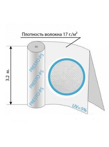 Агроволокно белое 17уф ( 1,6*100м ) № 17G/M