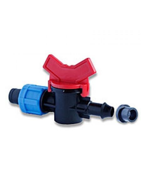 Кран старт с резинкой для капельной ленты (50шт-уп) №  OV-031708-R