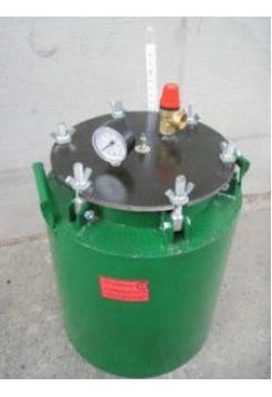 Бытовой автоклав зеленый электрический мини барашки (0,5л-5 банок, 1л-10 банок)