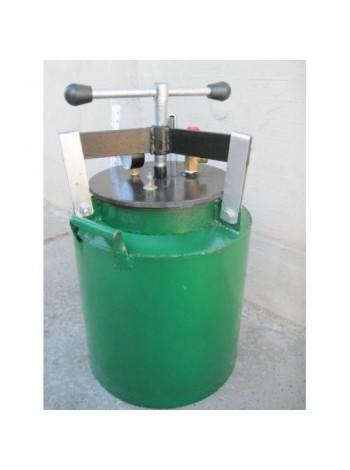 Автоклав бытовой Зеленый средний винт газовый
