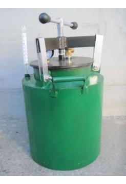 Автоклав зеленый электрический мини винт