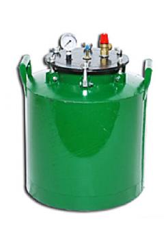 Автоклав зеленый электрический средний барашки