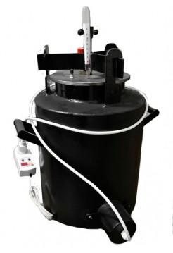 Автоклав электрический черный большой 21шт по 1л или 35 по 0,5л