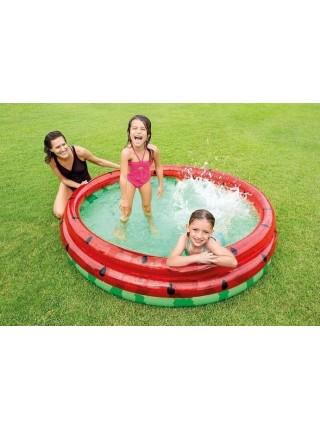 Детский надувной бассейн Intex 58448 «Арбуз», 168 х 38 см