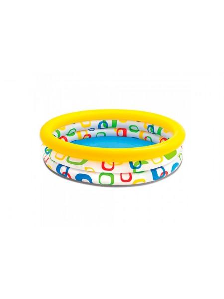 Надувной бассейн Intex 114х114х25 см (59419)