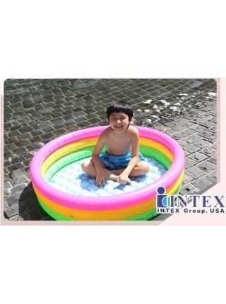 Надувной бассейн Intex 114х114х25 см (57412)