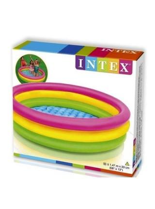 Надувной бассейн Intex 147х147х33 см (57422)