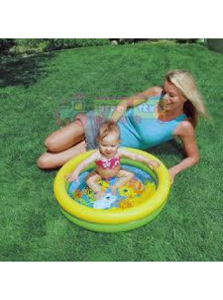 Бассейн детский надувной INTEX 61х15 см (59409)