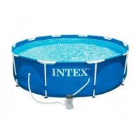 Бассейн каркасный Intex 305х76 см (28202) (56999) с фильтр-насосом
