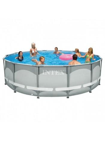 Каркасный бассейн Intex (28310)(26720) с фильтр-насосом 427х107 см