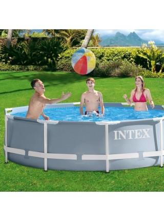 Бассейн каркасный Intex 26702, 305*76 с фильтр-насосом
