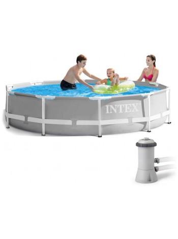 Бассейн каркасный Intex (26712) 366*76 с фильтр-насосом