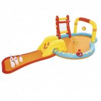 Детский надувной центр Bestway 53068 Спортивная площадка 435-213-117 см