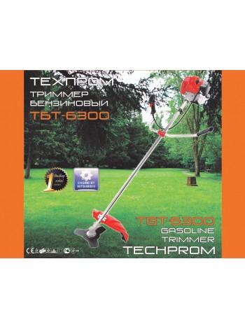 Бензокоса Техпром ТБТ - 6300 (5 дисков / 5 бабин)