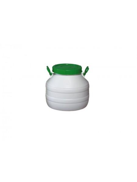 Бочка пластмассовая пищевая 30 л, горловина 215 мм