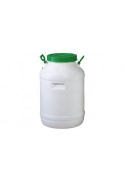 Бочка пластмассовая пищевая 60 л, горловина 215 мм