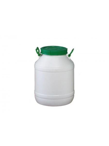 Бочка пластмассовая пищевая 50 л, горловина 215 мм