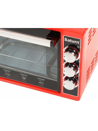 Духовка настольная Saturn ST-EC1073 Red