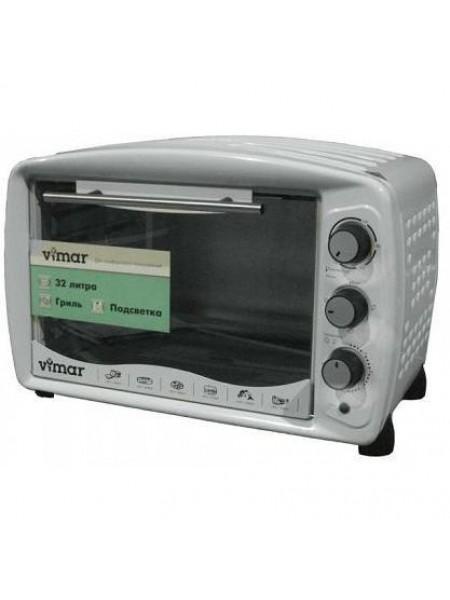 Мини-печь VIMAR VEO-3214 W с грилем, подсветкой и таймером