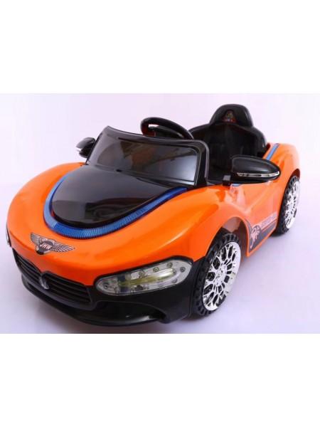 Детский электромобиль 518-33 оранжевый