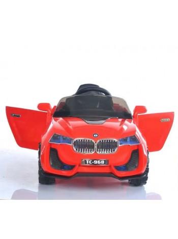 Детский электромобиль 100-968 красный