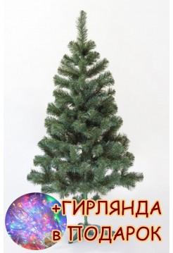 Новогодняя елка искусственная Сказка 2,0 м, зеленая ПВХ (ЯШК-З-2,00)