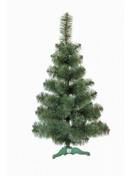 Искусственная елка Принцесса 0,6 м зеленая с белыми кончиками (ЯШП-БК-0,60)