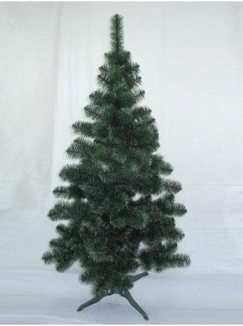 Искусственная елка Принцесса 2,0 м зеленая с белыми кончикаи (ЯШП-БК-2,0)