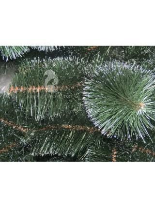 Сосна искусственная зеленая с белыми кончиками 0,70 м (СШ-БК-0,70)