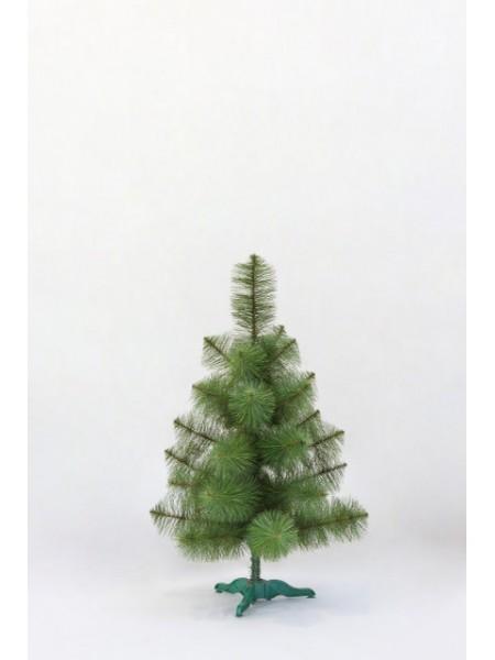 Новогодняя сосна искусственная зеленая ПВХ 0,70 м (СШ-З-0,70)