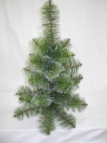 Сосна искусственная зеленая с белыми кончиками 0,90 м (СШ-БК-0,90)