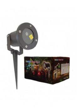 Лазерный уличный проектор (узоры и фигуры)