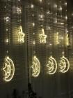 Новогодняя LED гирлянда 3D