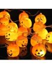 LED гирлянда Хеллоувин - Тыква 12 Led, 5м