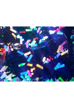 Гирлянда новогодняя Рубин восьмигранный на 200 лампочек