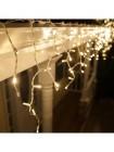 Гирлянда бахрома прямая 5м (теплый белый)
