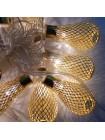 Гирлянда Груша Золото LED 20