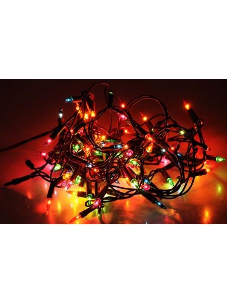 Новогодняя гирлянда LED на 100 лампочек