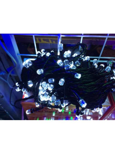 Новогодняя гирлянда Рубин большой на 100 лампочек