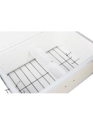 Инкубатор для яиц Курочка Ряба ИБ 100, механический, аналоговым регулятором, в пластике