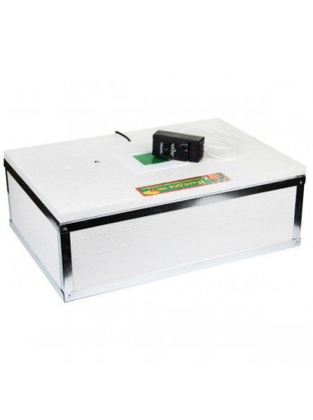 Инкубатор для яиц Наседка ИБМ 100 ручной, аналоговый. Резаный пенопласт, края усилены металлом